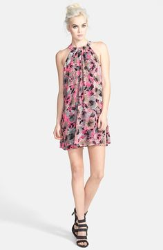 Cute Spring Dresses.                                         ASTR+High+Neck+Shift+Dress+available+at+#Nordstrom