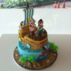 jake and the neverland pirates cake ideas - Yahoo! Search Results