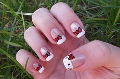 Hello Kitty Nail Art Ideas  #nails #nailart #hellokitty