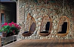 For the Love of� Hanging Chairs