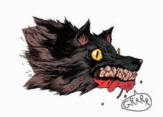 Pretty Art, Cute Art, Character Illustration, Illustration Art, Animal Drawings, Art Drawings, Doodle Art, Wow Art, Horror Art