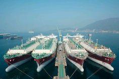 LNG´s tankers Joy Richard Preuss is  Captain onboard Powerful Micro Computer is  Captain Onboard Innovation Toshiba