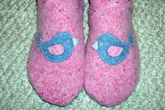 Sweater slippers (Photo by Jennifer Brooks)