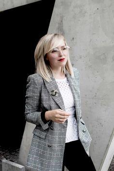 blazer von zara allrounder alltag businesslook bürooutfit nerdbrille