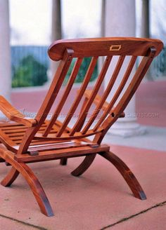 Titanic Deck Chair Plans - Outdoor Furniture Plans