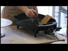 How to Glaze Pottery : Clay Pottery Wax Dipping