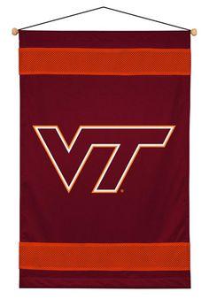#oBedding - #Sports Coverage NCAA Virginia Tech Hokies - Team Logo Wall Hanging Decor Accent - AdoreWe.com