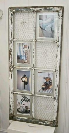 nice 48 Newest Diy Vintage Window Ideas For Home Interior MakeoverYou can find Vintage windows and more on our website.nice 48 Newest Diy Vintage Window. Antique Windows, Vintage Windows, Modern Windows, Old Window Projects, Diy Projects, Project Ideas, Old Window Frames, Window Frame Ideas, Window Pane Picture Frame
