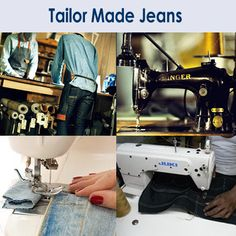 Find your Tailor Made Jeans from leading #manufacturer of its. Visit: www.sqjeans.com/ourconcept.html for choosing and #Buying perfect fitting #TailorMadeJeans