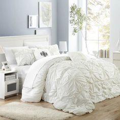 Chic Home Halpert Floral Pinch Comforter Set   Wayfair