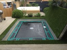 For some it is essential to be able to reclaim the garden when the Sunken Trampoline is not in use and what better way to do so than with a lid.