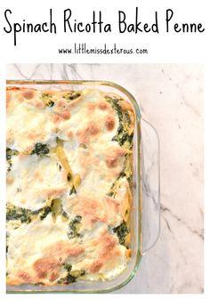 spinach ricotta Bake