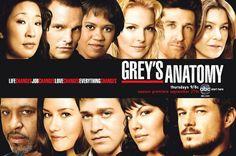 Grey's Anatomy. obsessed!