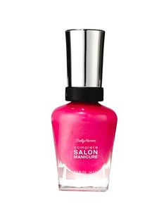 Best of Beauty 2015 Winner -- The best bright nail polish: Sally Hansen Complete Salon Manicure in Back to the Fuchsia | allure.com