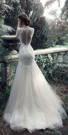 Milva Bridal Wedding Dresses 2017 Isabella / http://www.deerpearlflowers.com/milva-wedding-dresses/6/