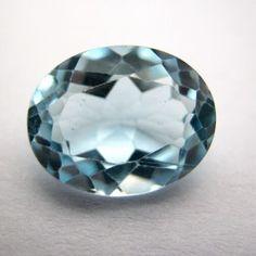 3.03 Carat Natural Blue Topaz Gemstone  #bluetopaz #gemstones #gemstonejewelry #stone #gemwiki #jewellery #astrology #astro Topaz Gemstone, Gemstone Jewelry, Blue Topaz Stone, Pink Topaz, London Blue Topaz, Astrology, Decorative Bowls, Gemstones