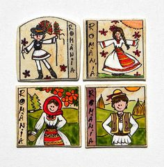 magneti motive traditionale-taranei | festART 1 Decembrie, Catamaran, Dollhouse Miniatures, Christmas Time, Folk Art, Projects To Try, Arts And Crafts, Embroidery, Traditional