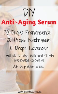 Ingredients for anti-aging serum using essential oils. - - Ingredients for anti-aging serum using essential oils. Ingredients for anti-aging serum using essential oils. Anti Aging Tips, Best Anti Aging, Anti Aging Skin Care, Natural Skin Care, Creme Anti Rides, Creme Anti Age, Massage Facial, Serum Anti Age, Skin Care Routine For 20s