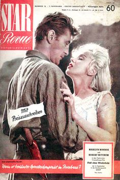 1954 August issue: Star Revue magazine cover of Marilyn Monroe .... #marilynmonroe #normajeane #vintagemagazine #pinup #iconic #raremagazine #magazinecover #hollywoodactress #1950s