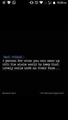 for my bff. Best Friend Poems, Best Friend Captions, Dear Best Friend, Best Friend Quotes Funny, Besties Quotes, Bestest Friend, Crazy Friends, True Friends, Best Friends