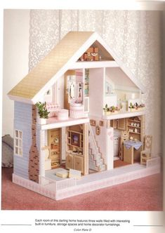 Plastic Canvas Doll House View 3 CAN also view instructions on https://www.facebook.com/media/set/?set=a.245235772175700.64848.244527122246565&type=3