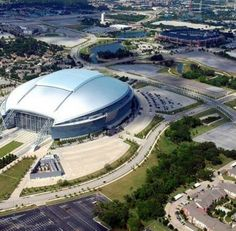Dallas Cowboy's stadium Arlington,  Texas Ballpark in Arlington, Texas Six Flags Over Texas Arlington,Texas...Where I will be seeing George Strait!!!
