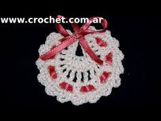 Souvenirs Modelo Babero en tejido crochet tutorial paso a paso. - YouTube