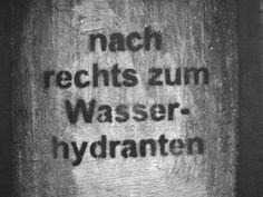 Hinweis   Zeche Zollverein   Essen   2006   (c) Rainer Wermelt   rainerwermelt.de