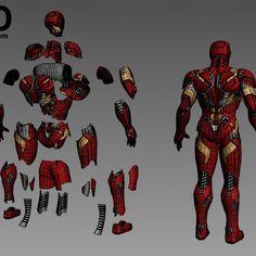 Iron Man Helmet, Iron Man Suit, Armadura Do Batman, Iron Man Hand, Combat Armor, 3d Printing Industry, 3d Printable Models, Star Wars Pictures, Captain America Civil War