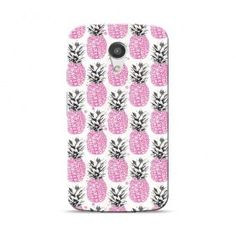 Motorola Moto G(2nd Gen) Pink Pineapple Case