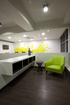 Advertising Agency Name Inspires Creative Design Concept WHITE CANVAS Offices