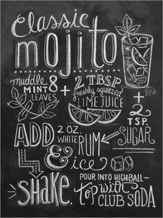 Lily & Val - Mojito-Rezept