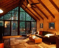 ... . Mulfinger wrote some great books about cabins and getaway homes