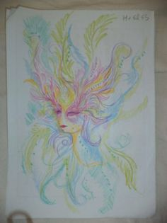 Girl draws self-portraits before and during LSD high (12 Photos) : theCHIVE