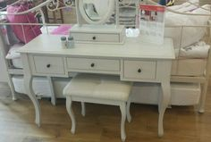 Fallen IN love with this dressing table and stool from laura ashley