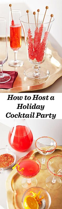 Ring in the season (or toast the new year) with a playfully sophisticated cocktail party: http://www.midwestliving.com/holidays/christmas/5-christmas-party-ideas/?page=7