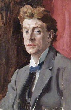 Professor John Laviers Wheatley (1892–1955) c.1930 by Augustus John (1878-1961)
