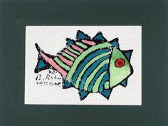 Elit Handicraft - BR075B1 Bedri Rahmi Eyüboğlu Pisi Balığı