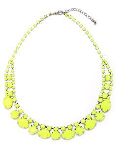 BaubleBar Phospho Necklace