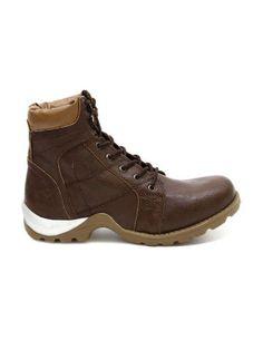 Knotty Derby Men Brown Goyle Boots