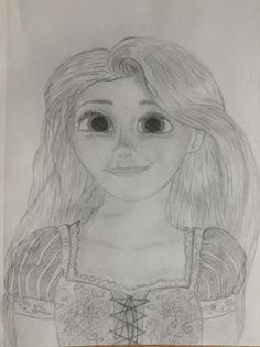 Rapunzel from Disney's tangled (2010)- it took me a while, but I think it turned out pretty okay in the end