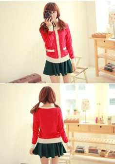 Sweet Japanese Style Sweater Cardigan
