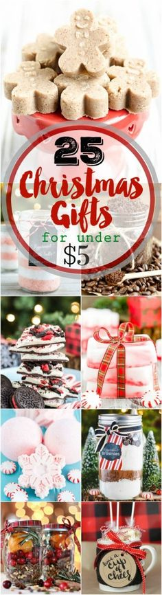 25 Handmade Christmas Gifts Under $5 - A Pumpkin And A Princess