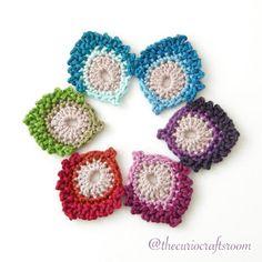 Crochet Leaves - Tutorial ❥ 4U hilariafina  http://www.pinterest.com/hilariafina/