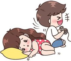 Boobib lovely couple 4 (Indo) – LINE stickers Love Cartoon Couple, Cute Couple Comics, Cute Love Cartoons, Cute Couple Art, Cute Couples, Chibi Couple, Cute Love Pictures, Cute Cartoon Pictures, Cute Love Gif