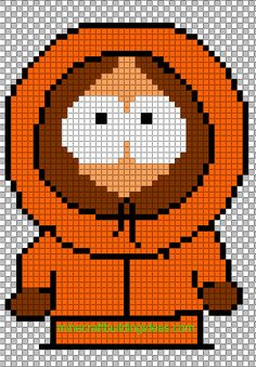 Minecraft Pixel Art Templates: Kenny