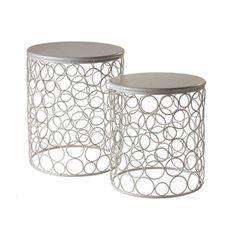 Hoops Nesting Table $180