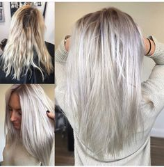 I want this hair ❤❤❤ Trendfrisuren William, akkurater Mittelscheitel oder This particular language Cut Platinum Blonde Hair, Hair Color And Cut, Balayage Hair, Haircolor, Hair Day, Gorgeous Hair, Hair Looks, Dyed Hair, Cool Hairstyles