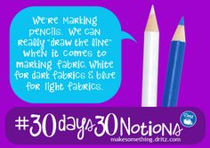 30 Days, 30 Notions | Celebrate National Sewing Month with @Dritz Sewing | Marking Pencil Edition