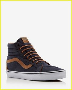 32215f581c6 From the skatepark to the city streets, these classic Vans reissue high top  sneakers offer laid-back cool that's always in style.